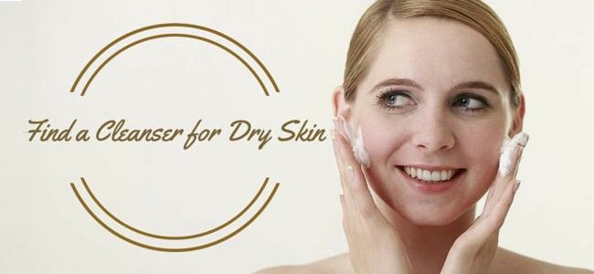 Find a Cleanser for Dry Skin