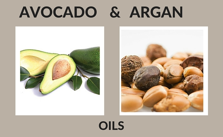 Avocado and Argan Natural Ingredients for Skin Care