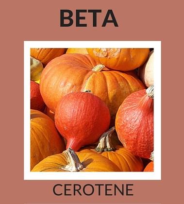 Beta Cerotene Natural Ingredients for Skin Care
