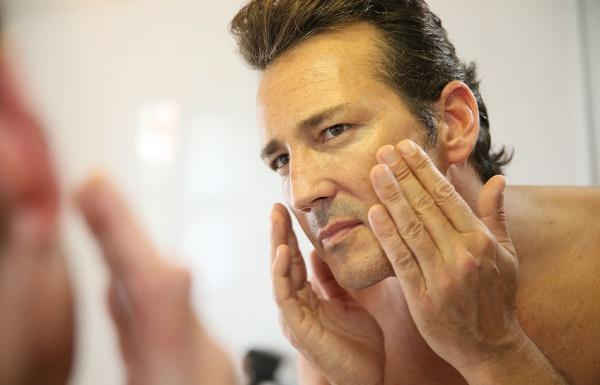 Natural Healthy Skin Care for Men